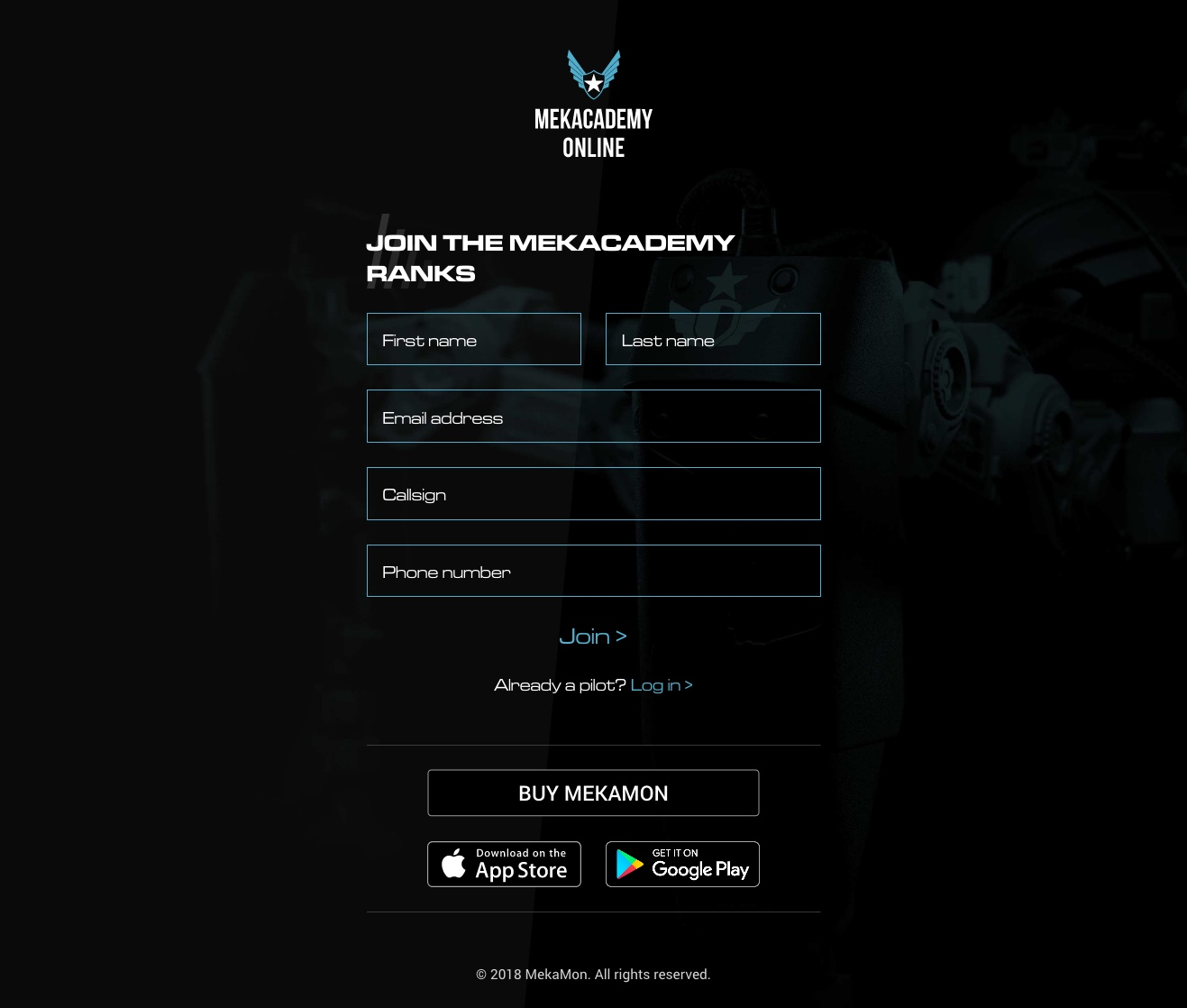 MekAcademy Online screenshot